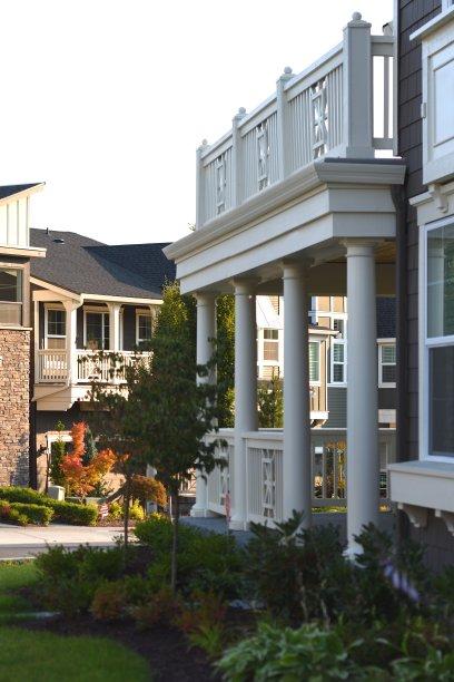 居住区,房屋,垂直画幅,正面视角,状态良好,美,外立面,郊区,无人,百叶窗