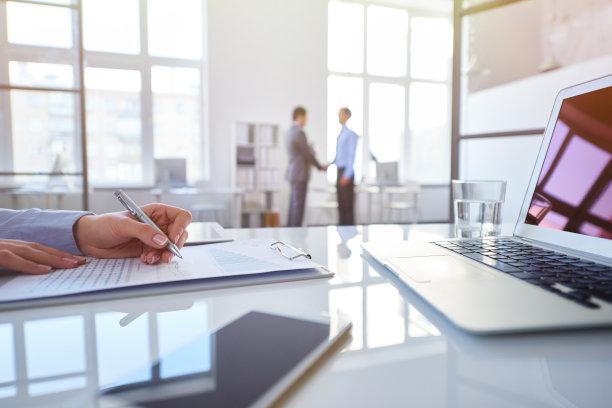 文档,办公室,笔记本电脑,水平画幅,工作场所,特写,俄罗斯,商业金融和工业,技术,书桌
