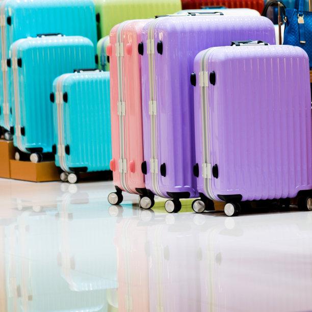 超级市场,组物体,手提箱,个人随身用品,无人,商店,行李,现代,工业,商业金融和工业
