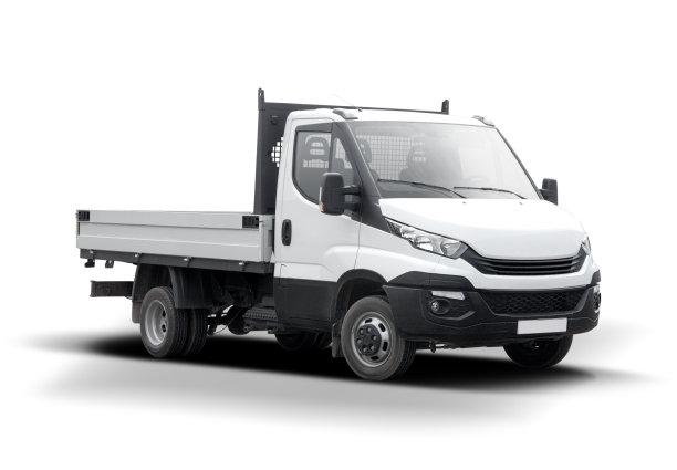 卡车,白色,分离着色,车轮,重的,水平画幅,交通,司机,户外,工业