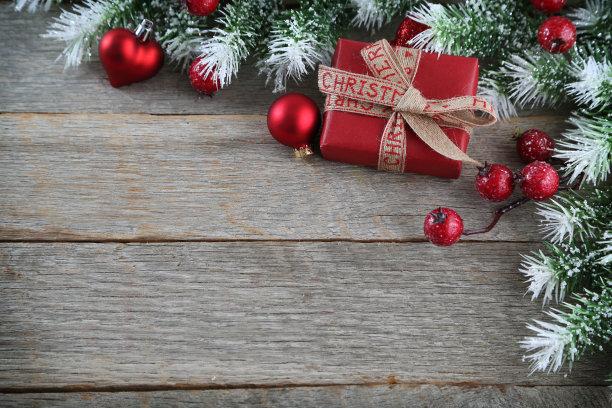 背景,贺卡,留白,边框,圣诞卡,水平画幅,无人,古典式,圣诞树