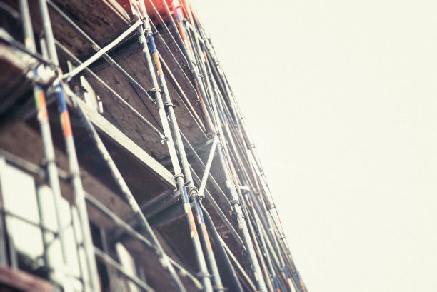 Construction site – Scaffolding