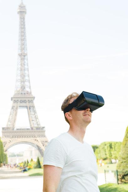 网络空间,垂直画幅,未来,旅游目的地,埃菲尔铁塔,旅行者,电子行业,国际著名景点,商业金融和工业,三维图形