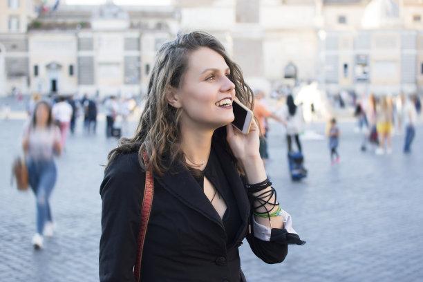 好消息,休闲活动,旅行者,夏天,青年人,罗马,信心,技术,著名景点,女人