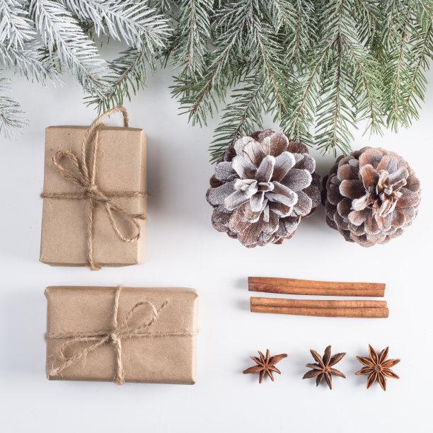 圣诞装饰,母球,球,留白,边框,圣诞卡,高视角,无人,新年