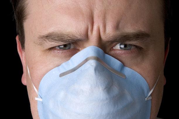 面罩,水平画幅,人群,风险,面具,偏远的,责任,保护工作服,彩色图片,人的脸部