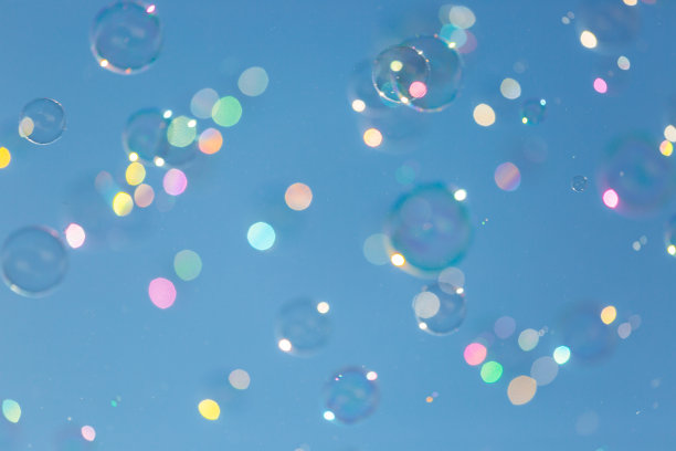 蓝色,肥皂泡,天空,球,水,风,水平画幅,无人,湿