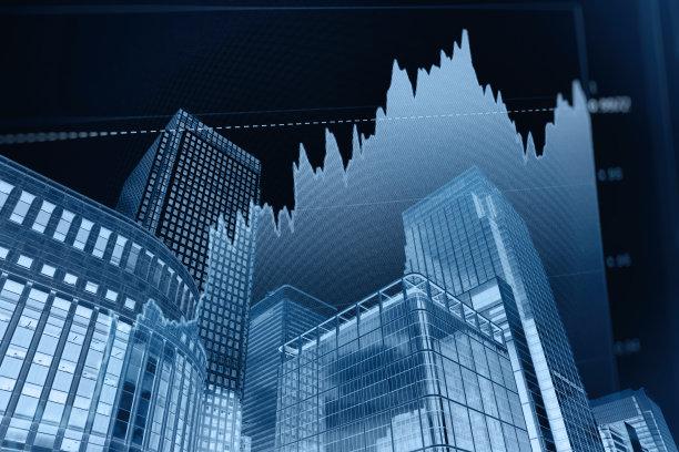 图表,商务,办公大楼,股票行情,未来,水平画幅,银行,无人,户外,都市风景