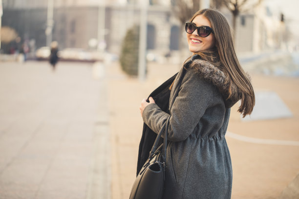 女人,街道,可爱的,健康,仅成年人,现代,技术,与众不同,公司企业,商务