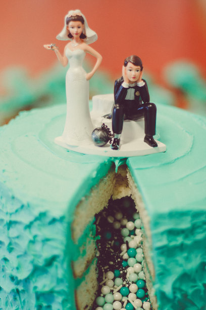 蛋糕,小雕像,新娘,新郎,垂直画幅,无人,婚礼蛋糕雕像,特写,甜点心,婚姻