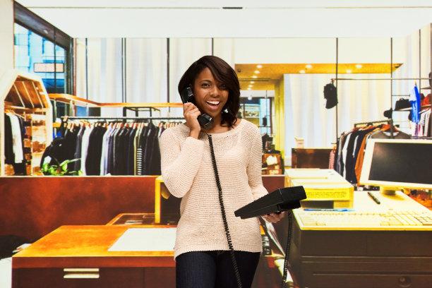 商店,非洲人,职业,女性,收银机,30岁到34岁,非裔美国人,仅成年人,售货员,服装店