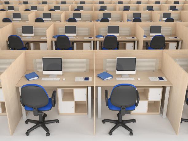 办公室,巨大的,空的,新的,顾客,家具,现代,技术,会议室,后背