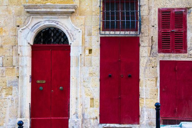 风化的,古典式,建筑,门,活力,留白,门口,外立面,水平画幅,无人