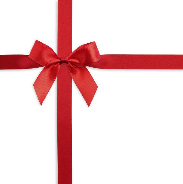 蝴蝶结,红色,礼物,垂直画幅,留白,水平画幅,无人,情人节,生日