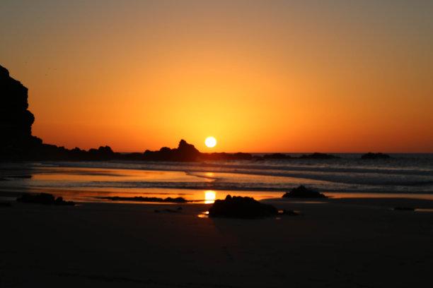 加那利群岛,橙色,水,留白,水平画幅,沙子,大西洋群岛,户外,海浪,热带气候