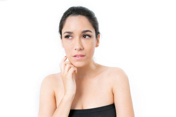 美,面部表情,彩妆,水平画幅,美人,化妆用品,干净,特写,泰国,仅成年人