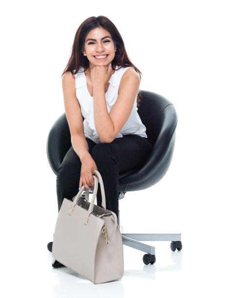 女商人,垂直画幅,美,拉美人和西班牙裔人,座位,椅子,美人,经理,仅成年人,长发