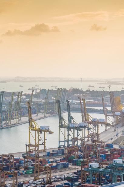 都市风景,新加坡市,城市天际线,市区,垂直画幅,夜晚,市区路,旅行者,滨水,新加坡河