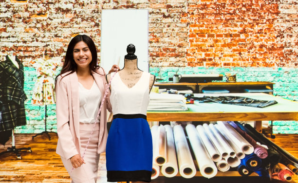 小企业,自然美,半身像,业主,裁缝,仅成年人,长发,青年人,专业人员,时尚造型师