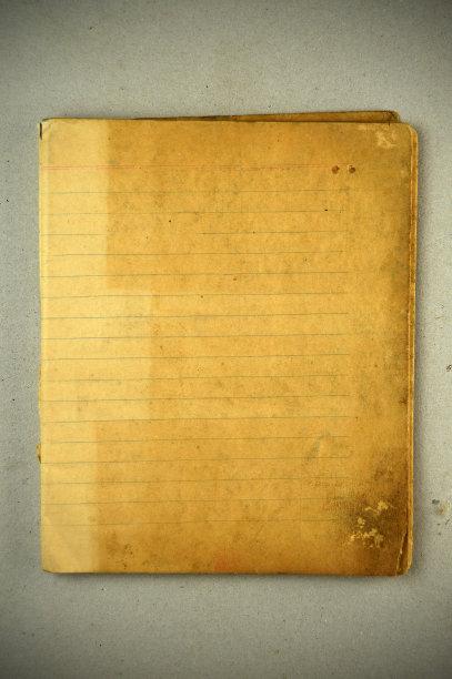 古老的,纸板,条纹,玷污的,笔记本,摇滚乐,灰色,垂直画幅,褐色,风化的
