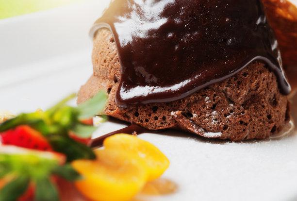 甜点心,糖衣,巧克力,美味,看,水平画幅,蛋糕,碳水化合物,巧克力蛋糕,装饰菜