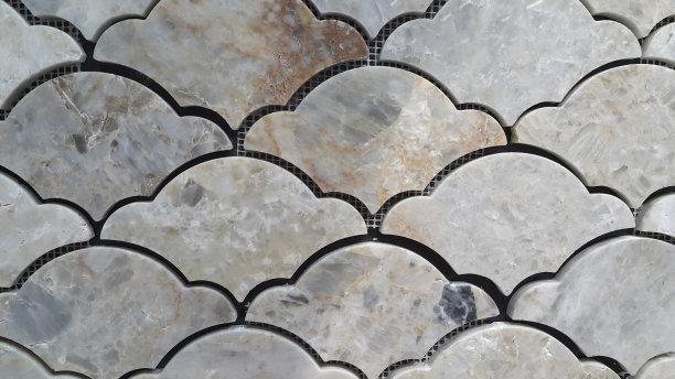 石墙,背景,留白,式样,水平画幅,无人,抽象,瓷砖,建筑外部,材料