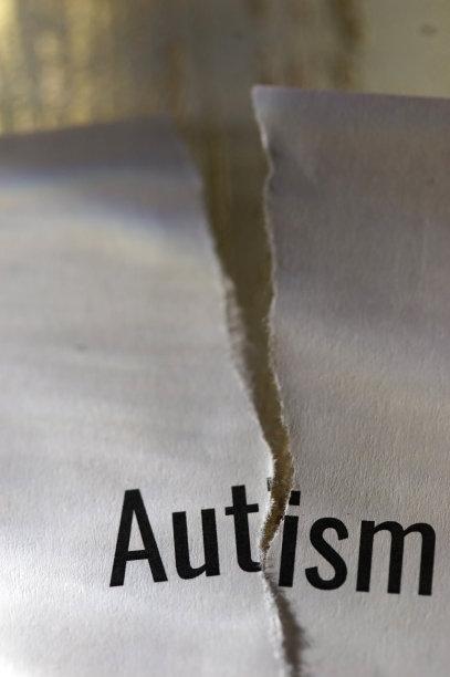 自闭症,垂直画幅,符号,凌乱,社会意识符号,单词,明信片,能力缺陷者,白色