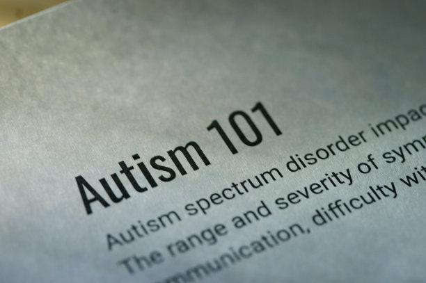 自闭症,水平画幅,符号,凌乱,社会意识符号,单词,明信片,能力缺陷者,白色