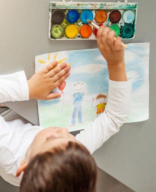 男孩,垂直画幅,天空,学龄前,气球,男性,明信片,童年,父亲节