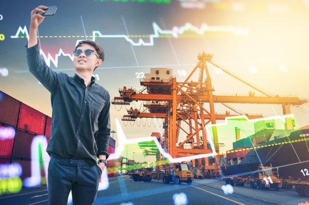 男商人,新加坡市,股票,夜晚,电子商务,都市风景,股市数据,青年人,在家购物,技术
