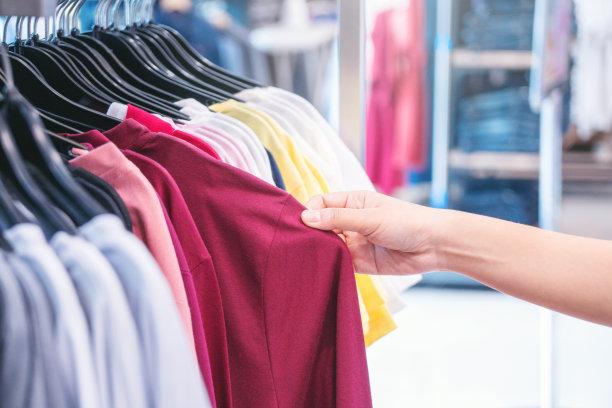 服装店,购物中心,概念,女人,贺卡,t恤,顾客,购物车,商店,夏天