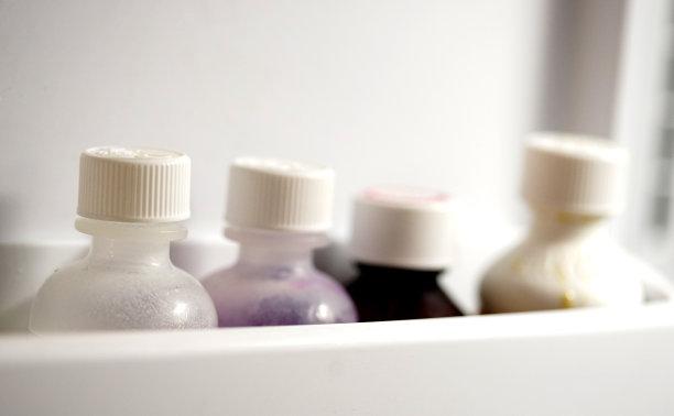 瓶子,健康保健,水平画幅,无人,维生素,健康,营养品,特写,糖浆,部分
