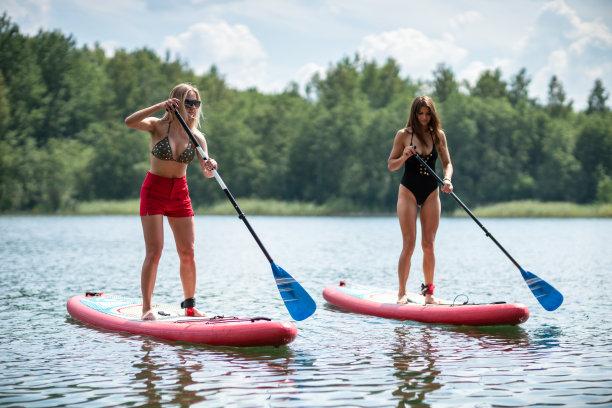 湖,桨叶式冲浪板,海滩,喜剧演员,水,美,休闲活动,水平画幅,夏天,户外