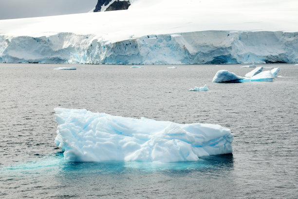 地形,南极洲,水平画幅,云,山,雪,南极半岛,无人,户外,深雪