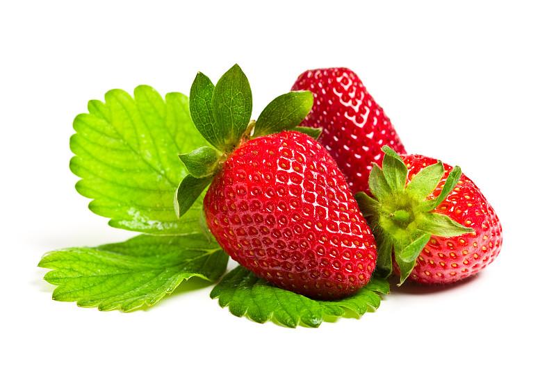 草莓,水平画幅,无人,维生素,夏天,组物体,特写,甜点心,农作物,白色