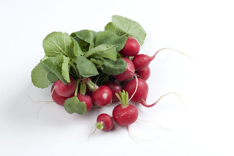 清新,萝卜,水平画幅,素食,无人,生食,组物体,特写,白色,植物