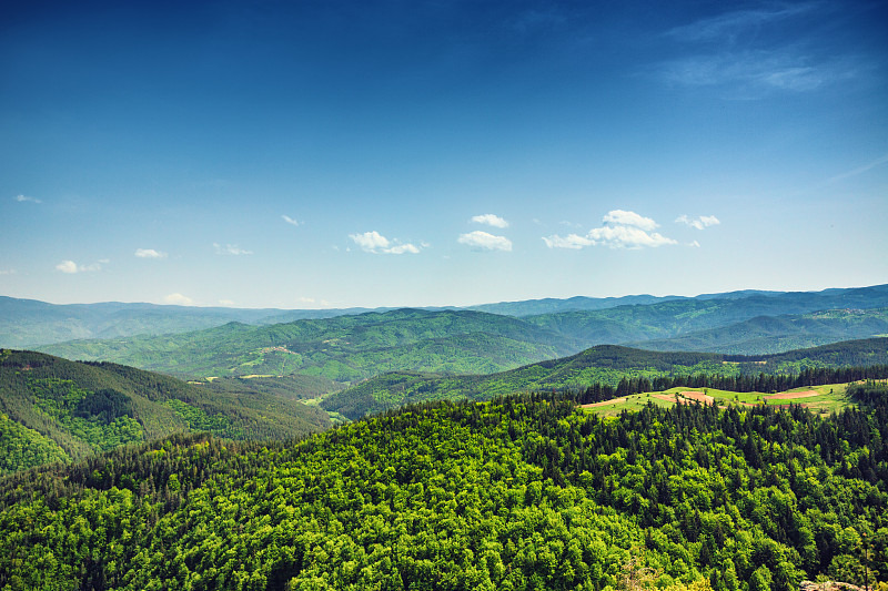 地形,山,自然美,山顶,有包装的,晚樱科,地平线,环境保护,景观设计,风景