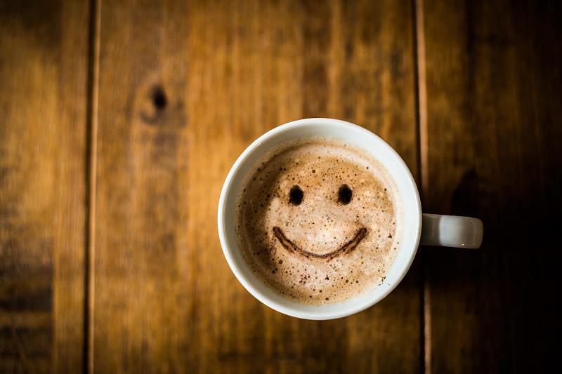 咖啡杯,幸福,工间休息,周末活动,用餐者,早晨,杯,早餐,咖啡馆,活力