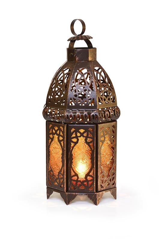 灯笼,斋月,青铜色,eid-ul-fitr,垂直画幅,青铜,褐色,艺术,玻璃,背景分离