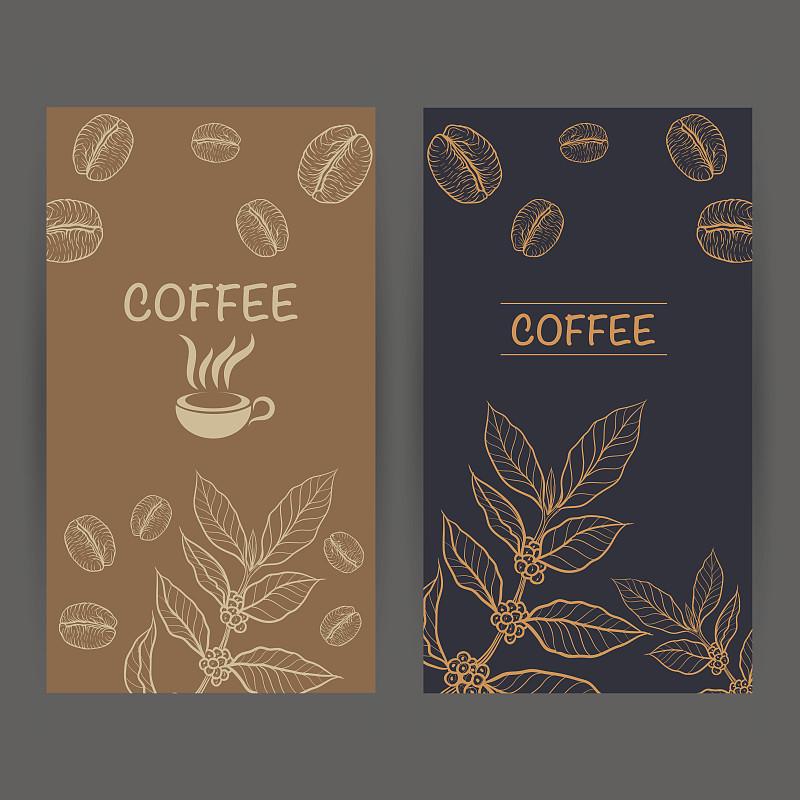 设计师,咖啡,绘画插图,古典式,标签,计算机制图,计算机图形学,饮料,模板,想法