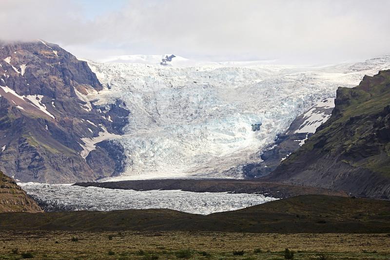 瓦特纳冰原,冰岛国,瓦特纳冰川国家公园,自然,水平画幅,地形,雪,冰河,无人,蓝色