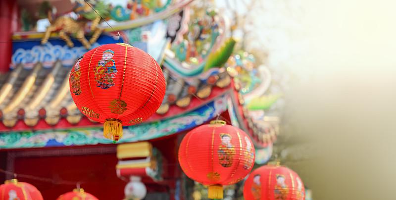 灯笼,春节,新加坡,朝鲜半岛,越南,红色,传统节日,新的,部落艺术,泰国