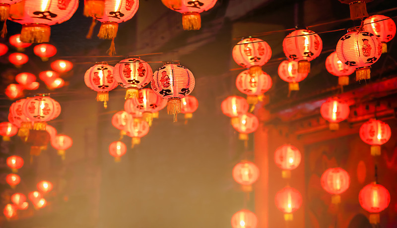 灯笼,春节,传统节日,新加坡,大量物体,泰国,马来西亚,朝鲜半岛,越南,运气