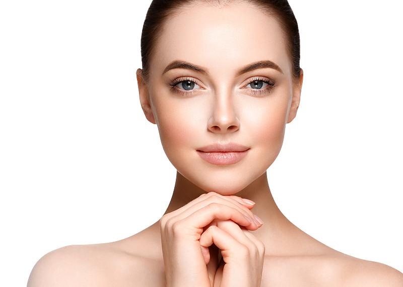 美,人的脸部,模型,肖像,白色,分离着色,艺术模特,美人,皮肤