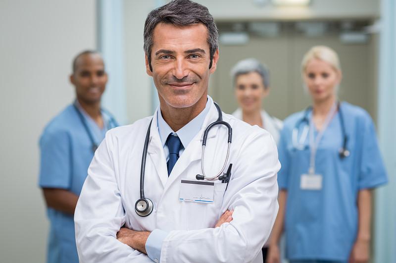 职业,假笑,骄傲,实验服,可靠性,证章,听诊器,病房