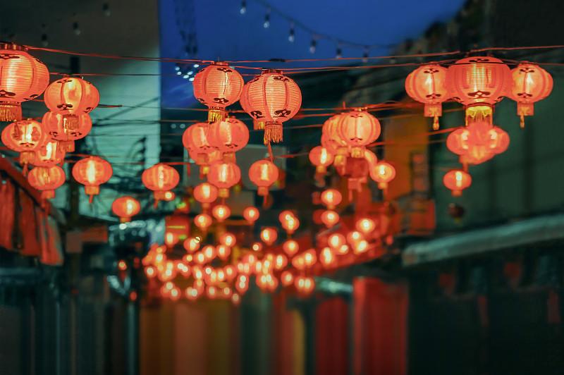 灯笼,春节,运气,新加坡,越南,大量物体,朝鲜半岛,马来西亚,历日,悬挂的