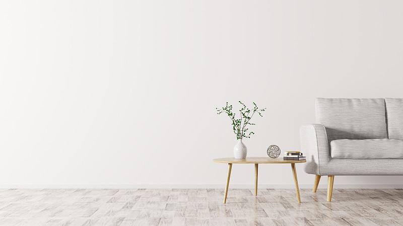 沙发,三维图形,室内,茶几,水平画幅,纺织品,无人,绘画插图,家具,现代