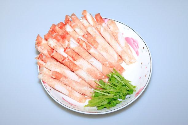 羊肉卷餐具水平画幅