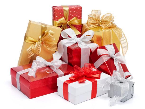 大量圣诞节礼物