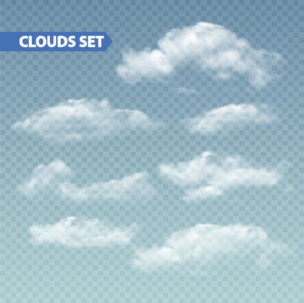 云透明矢量